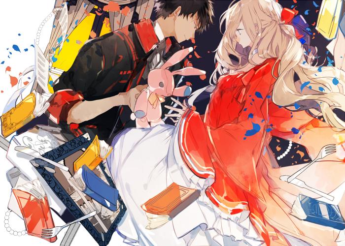 04:護衛騎士×姫-イラスト700×500